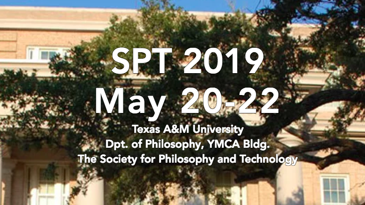 'Value Change and Technology' – Special Track at 2019 SPT conference